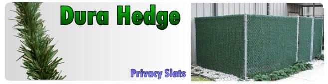 Dura Hedge Privacy Slats Privacy Slats
